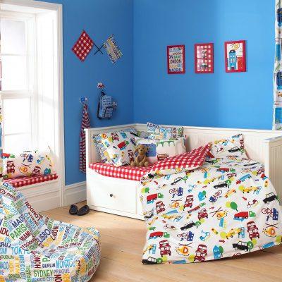Children's Bedroom - Colour Wall - fashionretailnews.com/