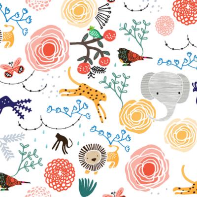 Children's Bedroom - Wallpaper - Spoonflower