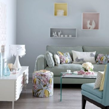 Pastel Colours in your home