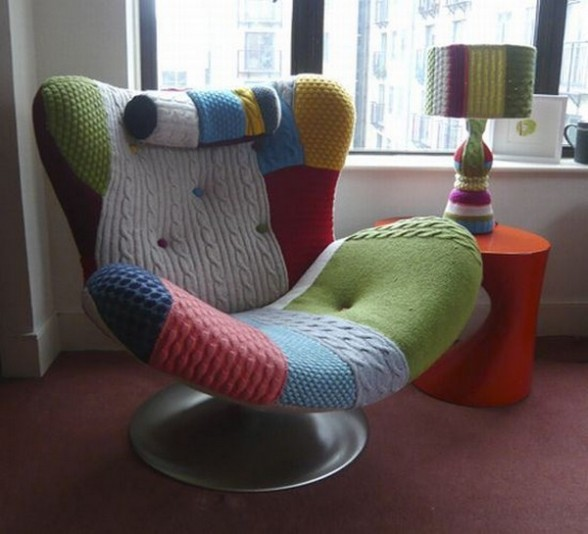 Colorful Reading Chair