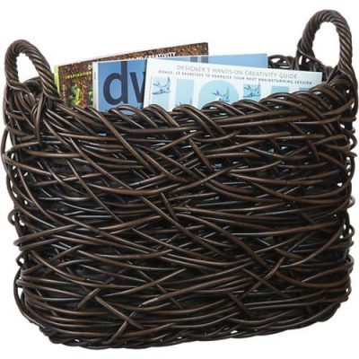 Basket for books and magazines