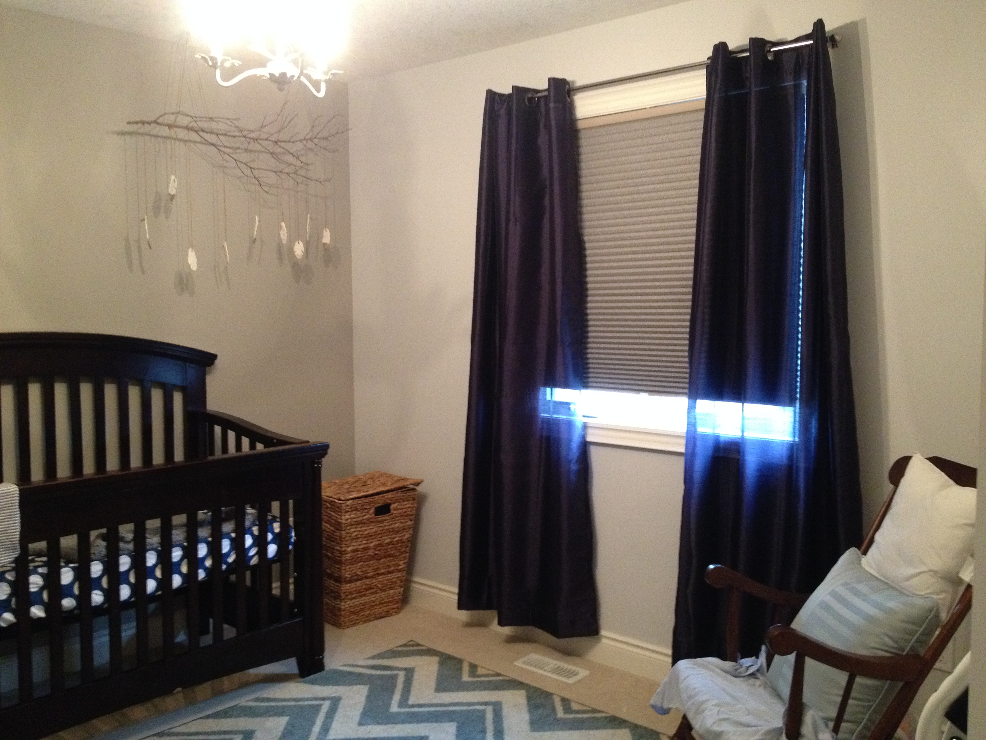 Nursery Blackout Curtains Baby The